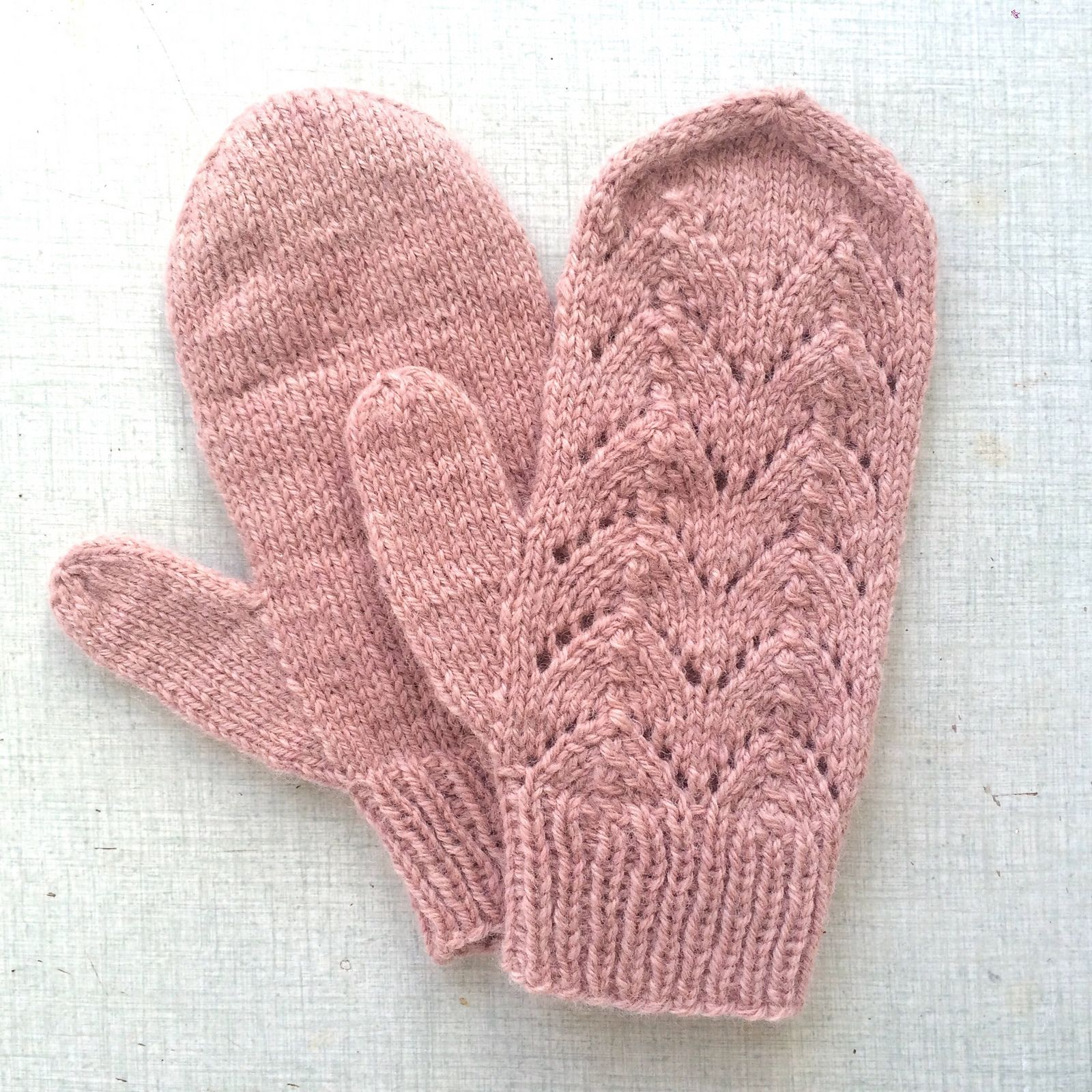 Simple Autumn Mittens By Halldora J - Free Knitting Pattern ...