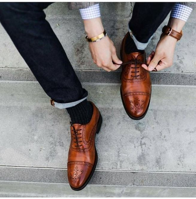 Handmade Men Brown Oxford Formal Shoes Men Brogue Dress Shoes Leather Shoes is part of Dress shoes men - Handmade men brown oxford formal shoes men brogue dress shoes leather shoes men