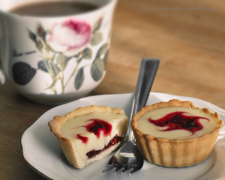 Raspberry & White ChocolateTarts