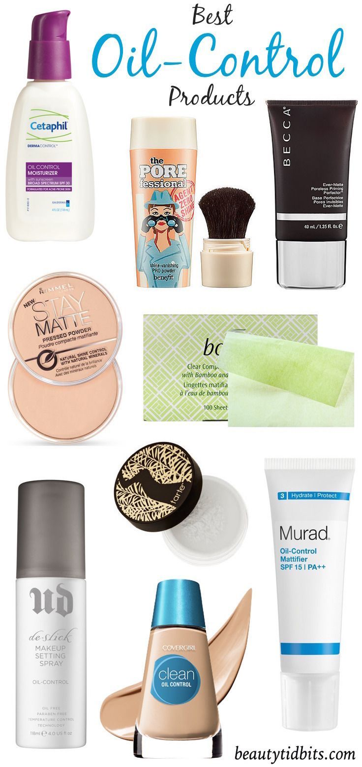 Matte Makers! Best ShineControl Products For Oily Skin