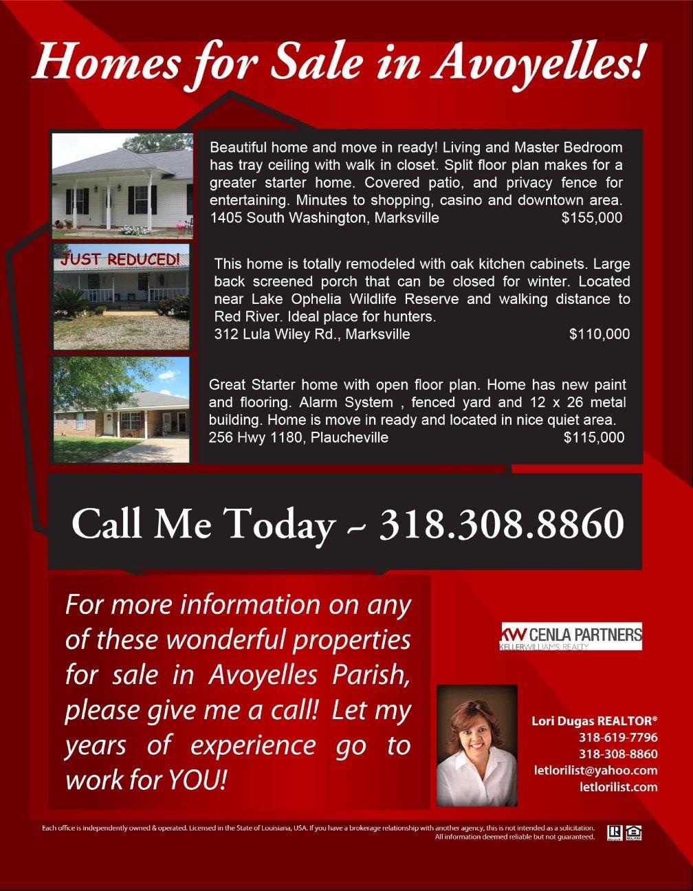 Homes For Sale In Avoyelles Parish Jackson St Avoyelles Parish Keller Williams Realty