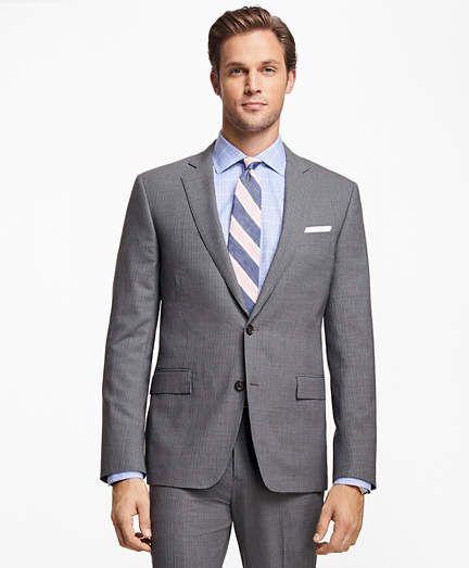 0ec9f438364 Brooks Brothers Regent Fit BrooksCool Stripe Suit