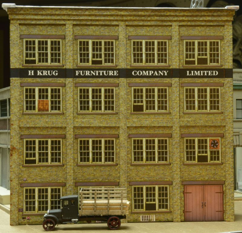 This is an image of Sweet Printable Model Railroad Buildings