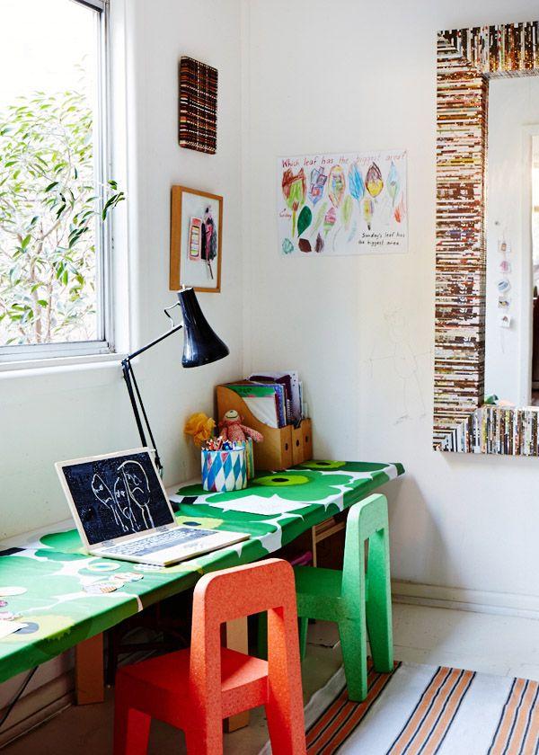 kids desk #marimekko