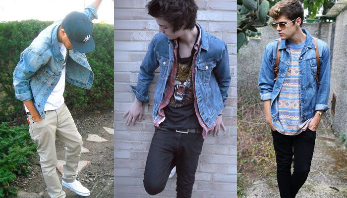 Mens jean jackets in style – New Fashion Photo Blog