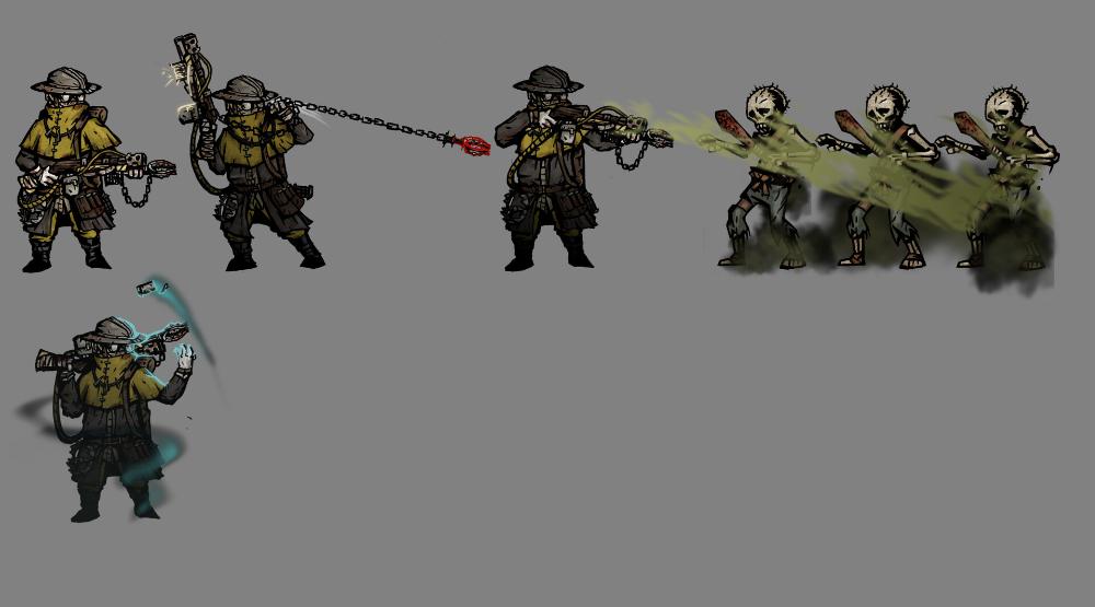 Artstation Darkest Dungeon Exterminator Mod Project Tuan Anh Nguyen Terkmc Darkest Dungeon Dungeon Artwork