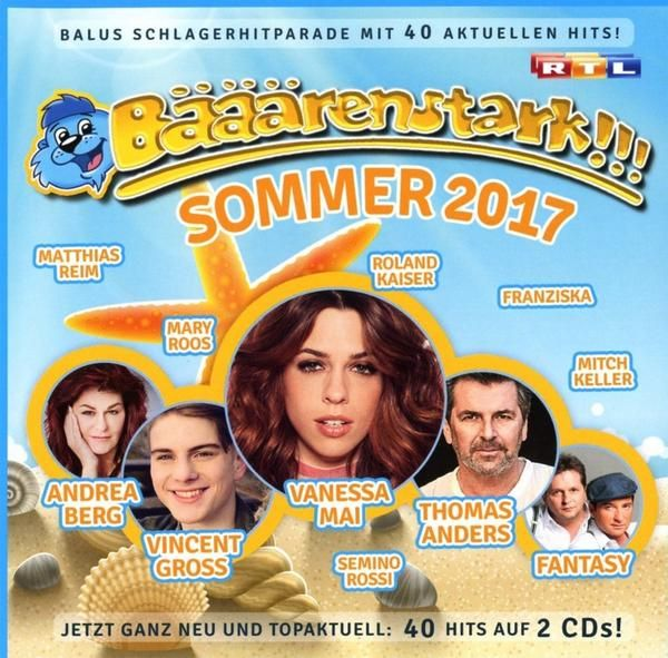 Bääärenstark!!! Sommer 2017 (2017) [2CD] Bääärenstark!!! Sommer 2017 Scene CD Rip Year Of Release: 2017 Genre: Pop Format: Flac, Tracks / Scene Bitrate: lossless Total Size: 1.0 GB 01. Andrea Berg 2017 Lossless, LOSSLESS, Various Artists Bääärenstark!!! Sommer 2017 - WRZmusic