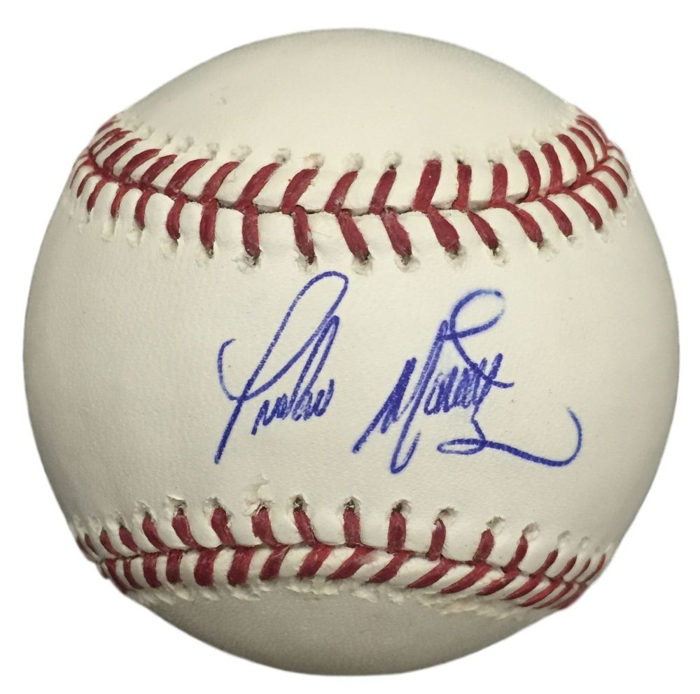 Pedro Martinez Red Sox Signed Rawlilngs Mlb Official Baseball Jsa K73578 Diamondbacks Baseball Arizona Diamondbacks Arizona Diamondbacks Baseball