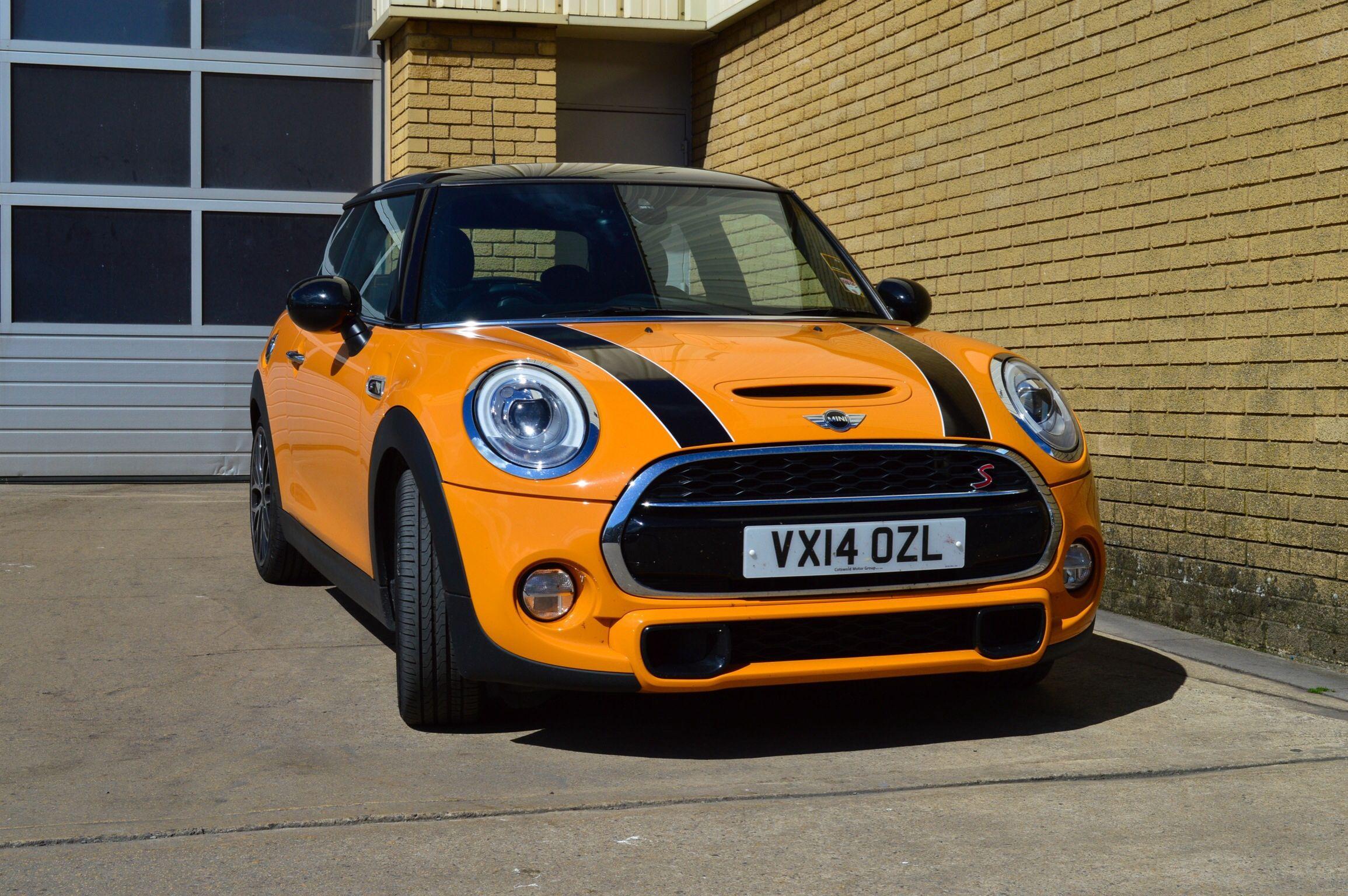 Mini Cooper S In Volcanic Orange Mini Cooper Mini Cooper S New Mini Countryman