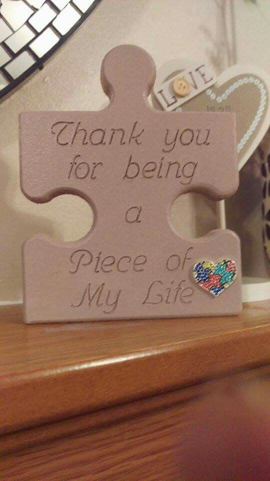 Heartfull Autism Different Not Less Puzzle Piece Crafts