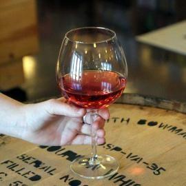 크리스탈 ENBY 볼륨업 산토리아 와인잔2P