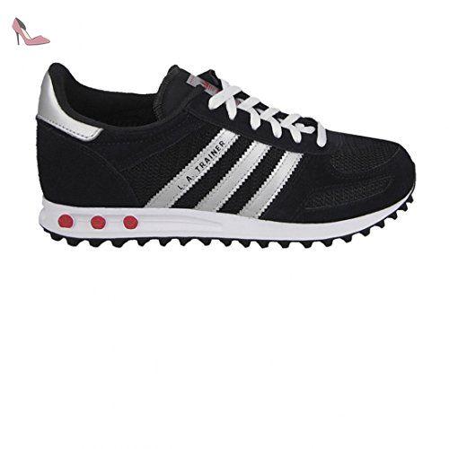 Adidas La Trainer Noir Gris Blanc