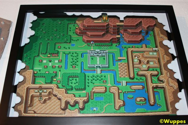 The legend of zelda a link to the past 3d papercraft map the legend of zelda a link to the past 3d papercraft map i want gumiabroncs Images