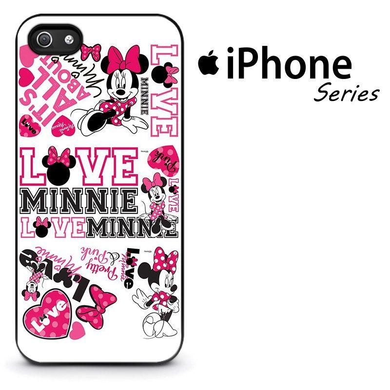 separation shoes 64894 5b1c5 Love Minnie Pink Phone Case   Apple iPhone 4/4s 5/5s 5c 6 6 Plus ...