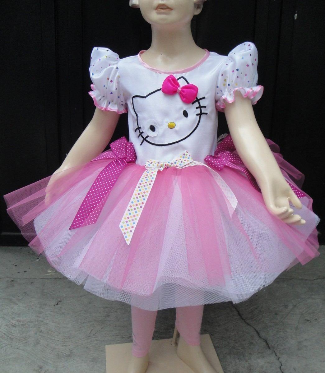 Disfraz Vestido Estilo Hello Kitty De Lujo Con Accesorios - $ 390.00 ...
