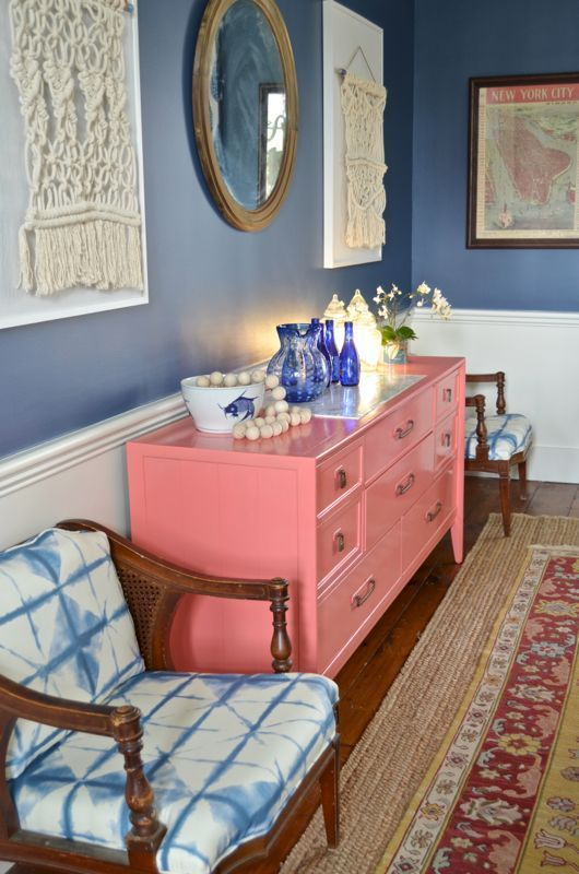 One Room Challenge REVEAL: Repurposed Eclectic Dining Room | Fabric ...