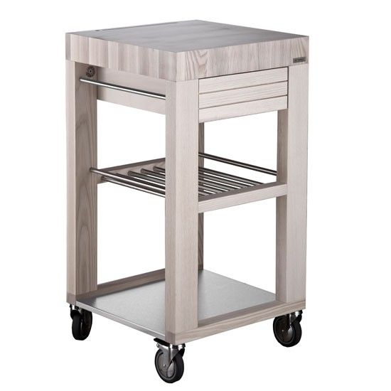 Legnoart Labor Butcher S Block From Kitchen Trolleys