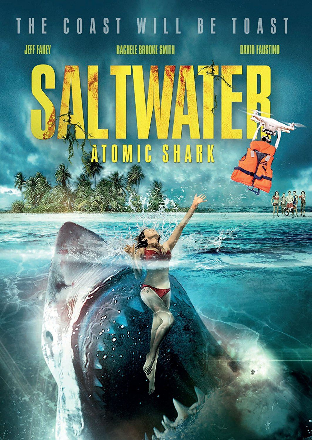 SALTWATER ATOMIC SHARK DVD (ITN DISTRIBUTION) (With