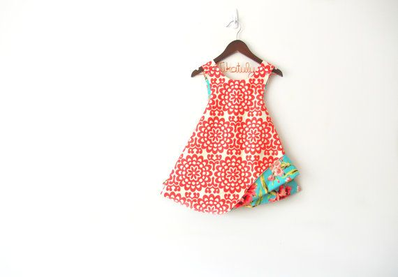 Aurthi reversible pinafore/jumper. 0-3 months to 6t Instant Download ...