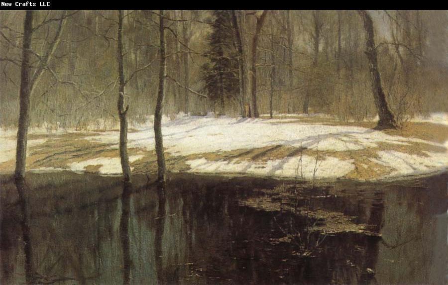 Stanislav Zhukovsky Spring Floods