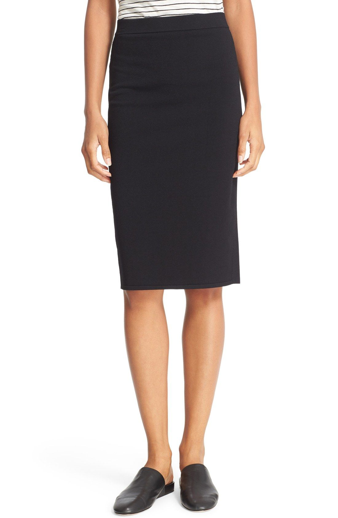 Vince Jersey Pencil Skirt Price