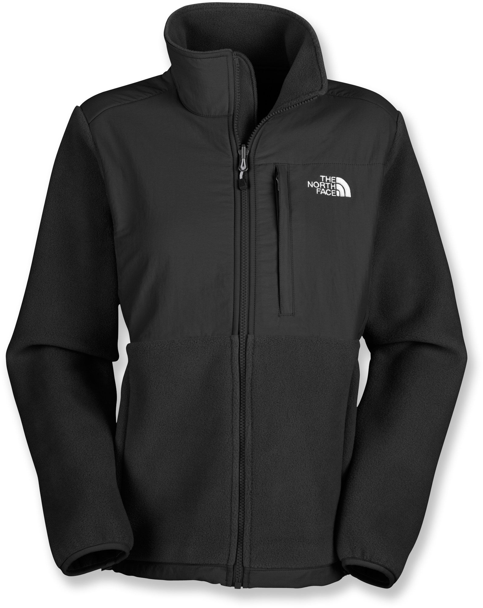 The North Face Denali Fleece Jacket - Women s - REI (All Black ... bec0885443f2