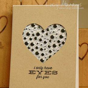 Valentinstag Karte basteln