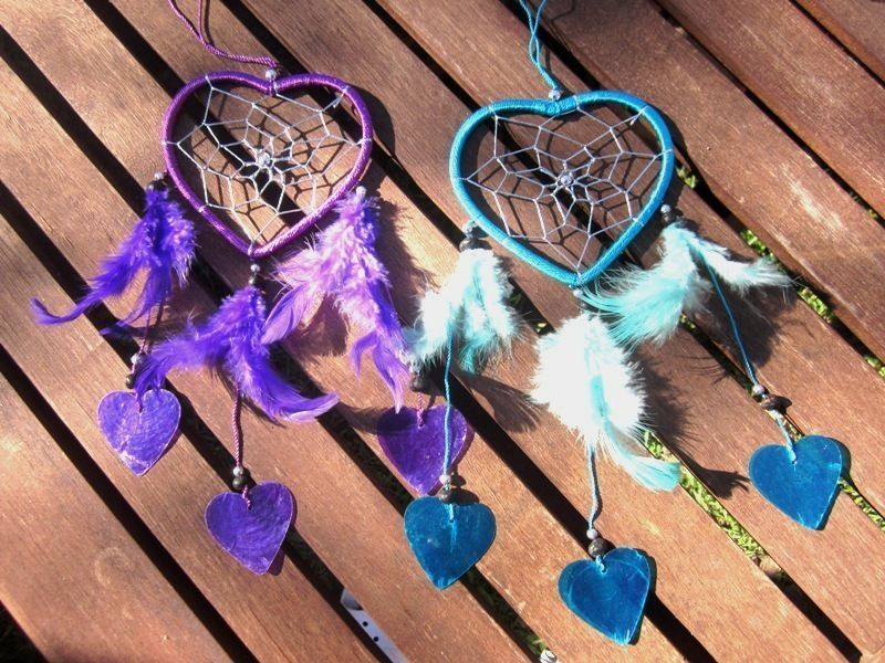 Making Dream Catchers Supplies How to Make a Heart Dreamcatcher Dream catchers Catcher and 25