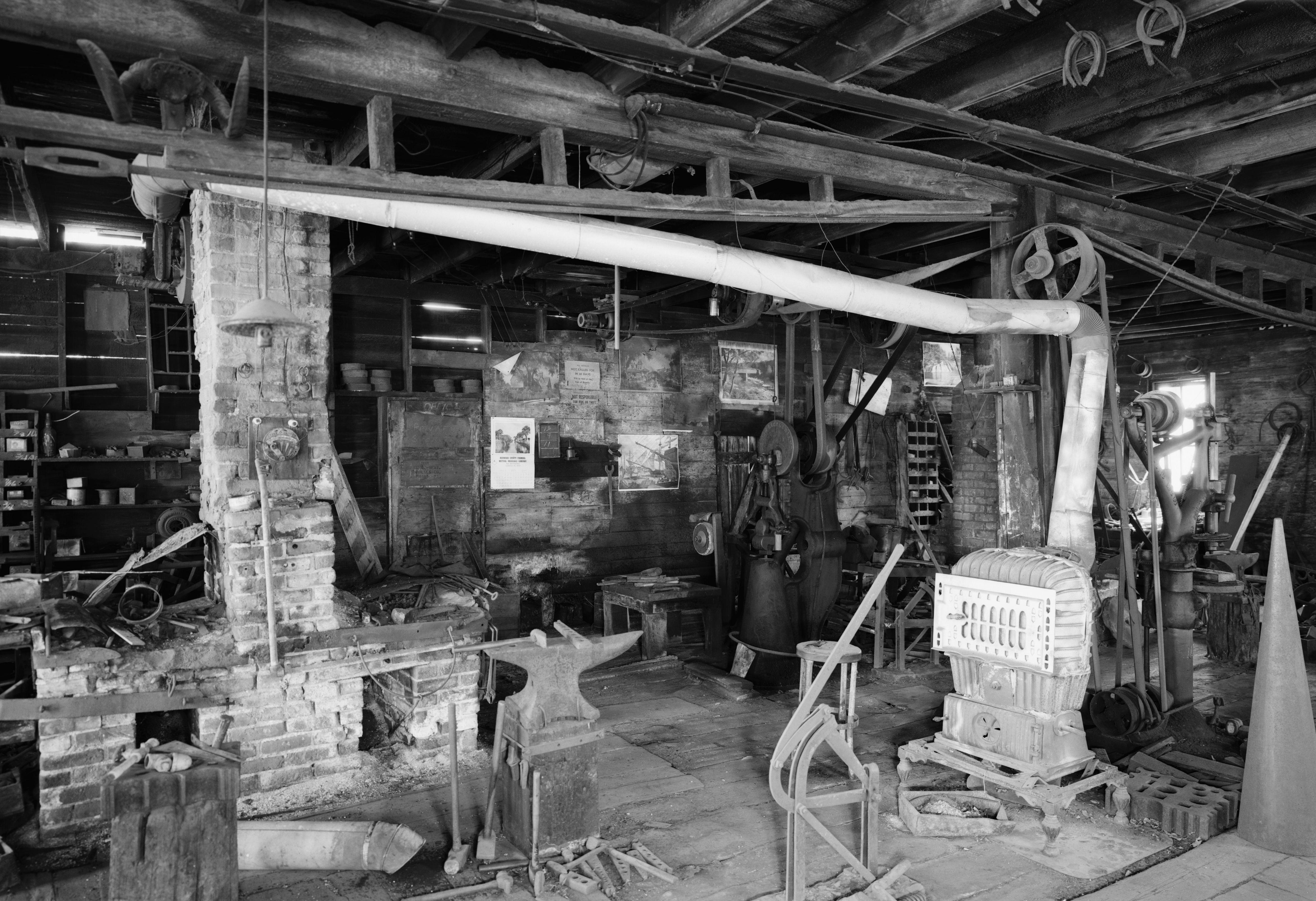Lamberton Area Historical Society S Hanzlik Blacksmith Shop