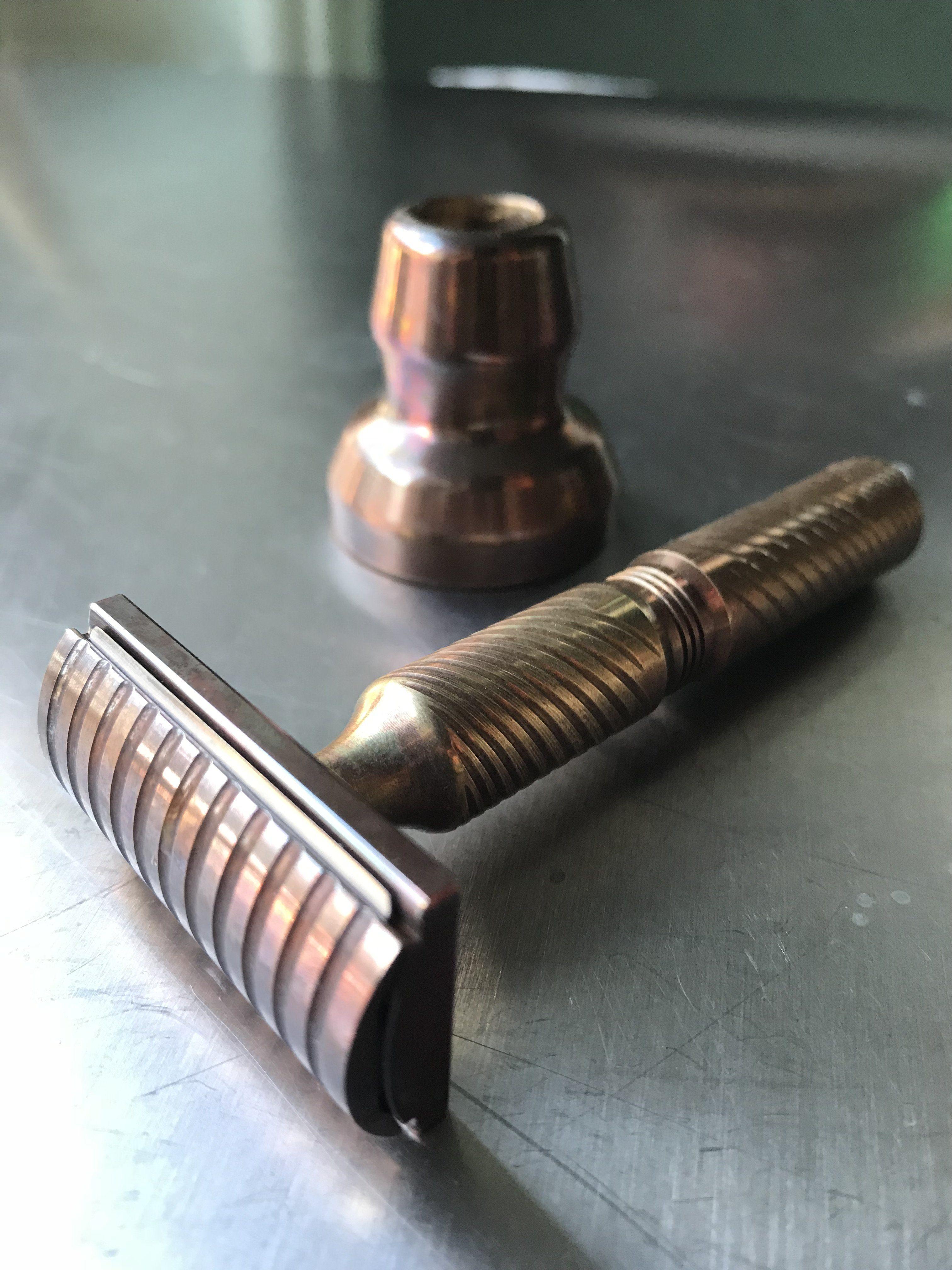 Timeless Bronze Razor Safety razor shaving, Best shaving