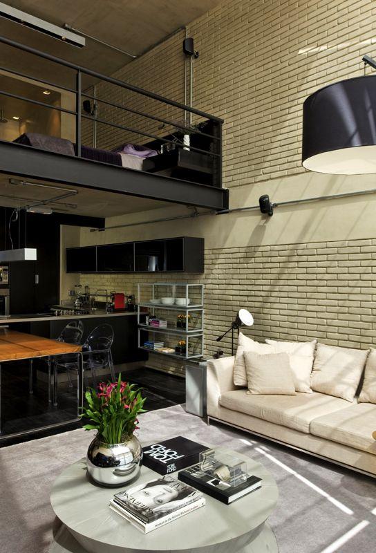 Beautiful houses industrial loft in sao paulo abduzeedo graphic design inspiration and photoshop also rh pinterest