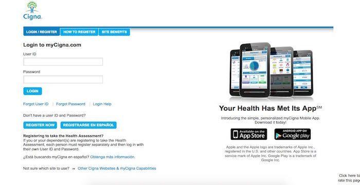 Cigna Login Sign In To My Cigna Com Insurance Account Health
