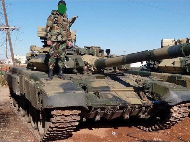 Resultado de imagen para T-90A + syria