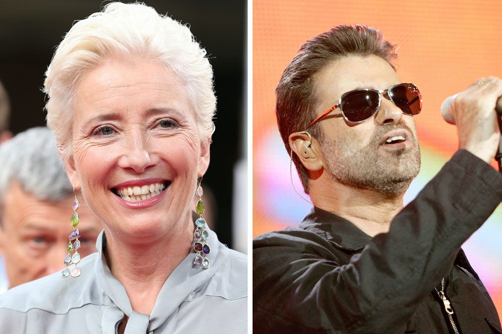 George Michael Was Involved In The Early Stages Of Emma Thompson S New Film Last Christmas George Michael Emma Thompson George Michael Songs