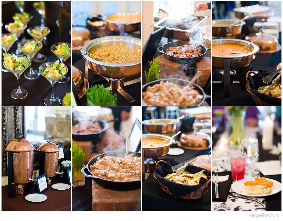 Inexpensive Reception Food Ideas