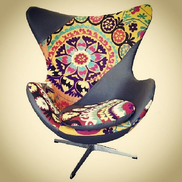 Photo By Gibidesign   Ecko Chair By KMP #furniture #chair #colorful  #rainbowcolors