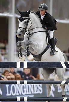 Paris 2014 Gallery - LONGINES GLOBAL CHAMPIONS TOUR - Grand Prix Bronze medallist Marcus Ehning and Cornado