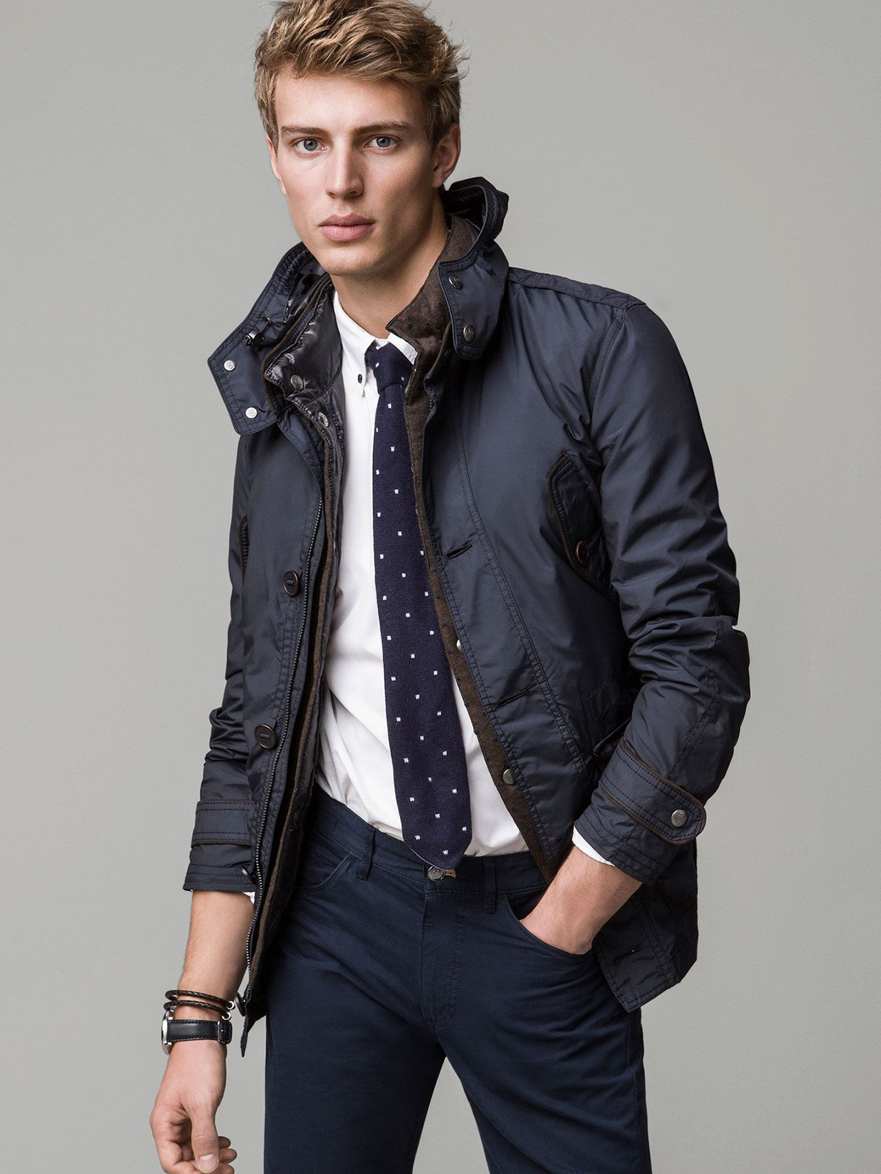 PARKA WITH GILET - Massimo Dutti   Things to Wear   Pinterest c9cc3b3dbba