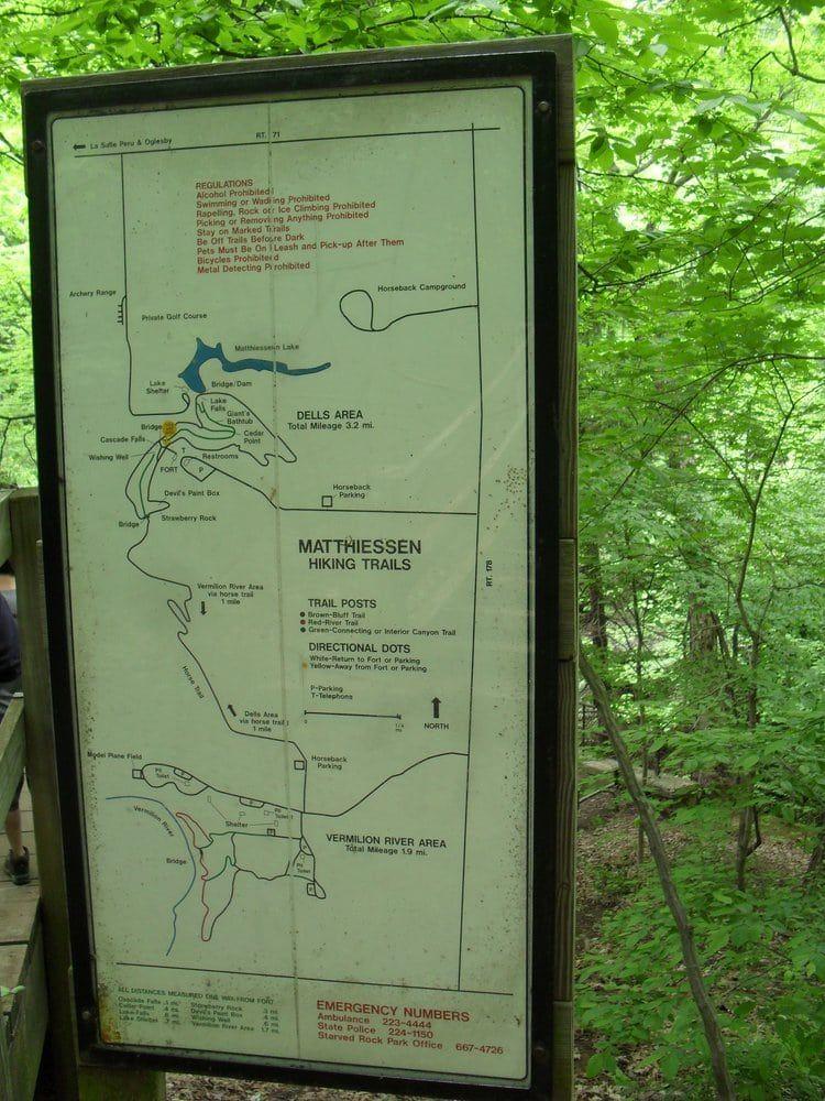 Matthiessen State Park Trails Map : matthiessen, state, trails, Matthiessen, State, Oglesby,, United, States., Trails, The…, Parks,, Park,, Oglesby