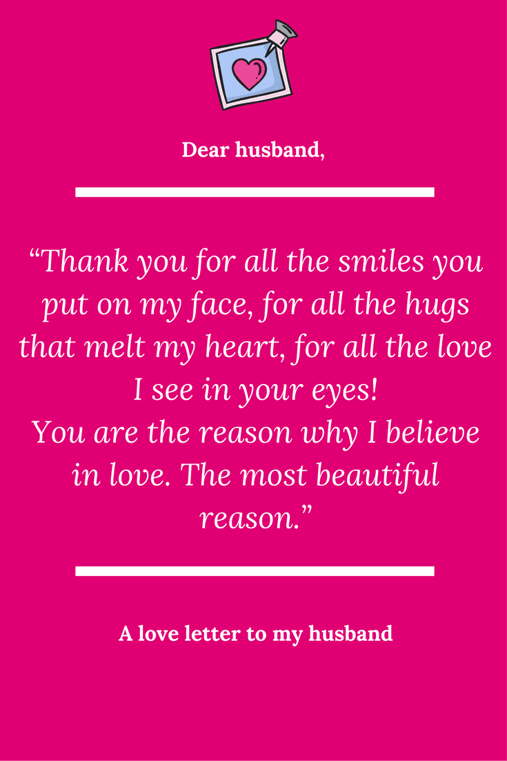 A love letter to my husband   Letters to my husband, Love