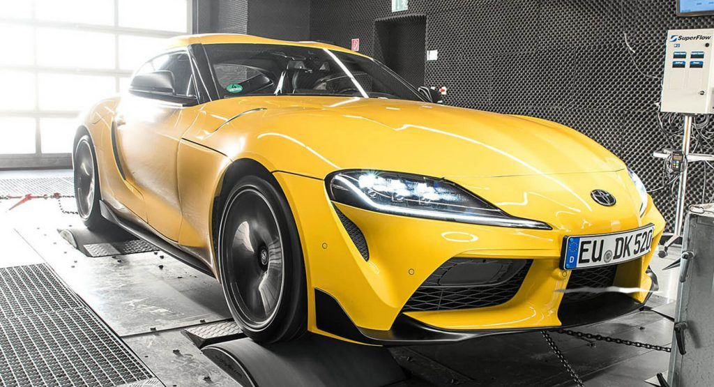 2020 Toyota Gr Supra Goes Bmw M2 Competition Hunting With 439 Hp Tuning Boost Toyota Supra Toyota Bmw M2
