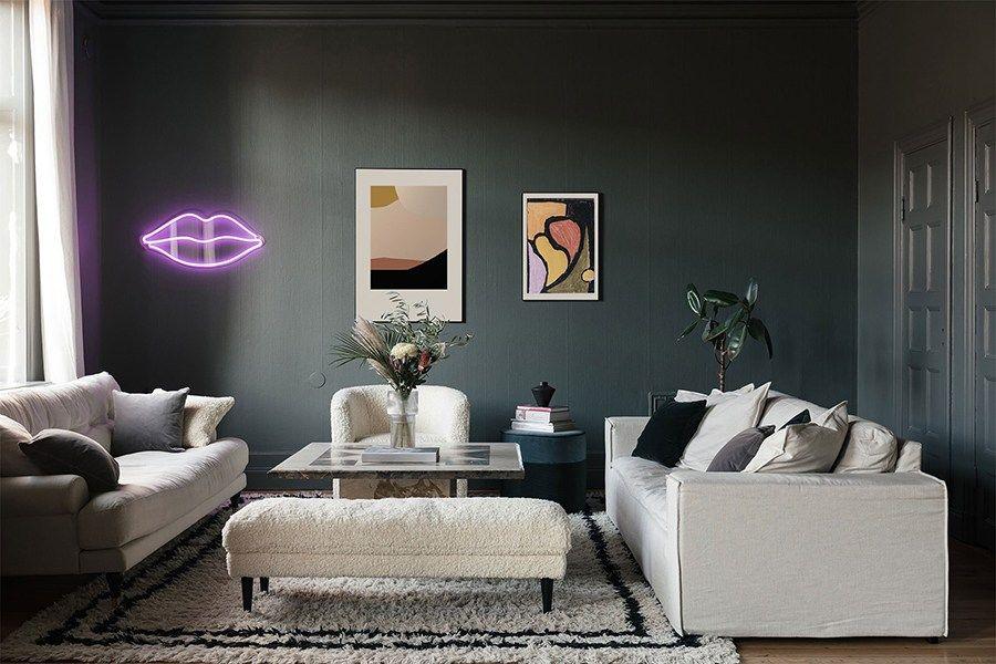 Studio Exhibition By Wall Of Art   Via Coco Lapine Design Blog