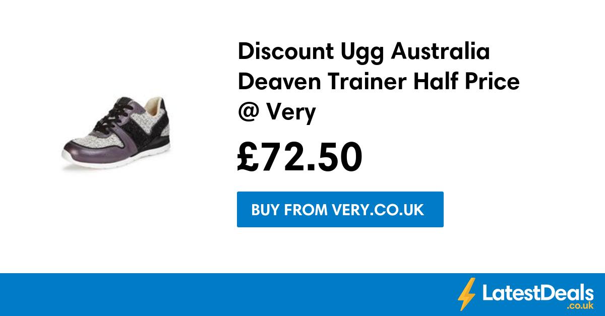 Discount Ugg Australia Deaven Trainer Half Price Very, £