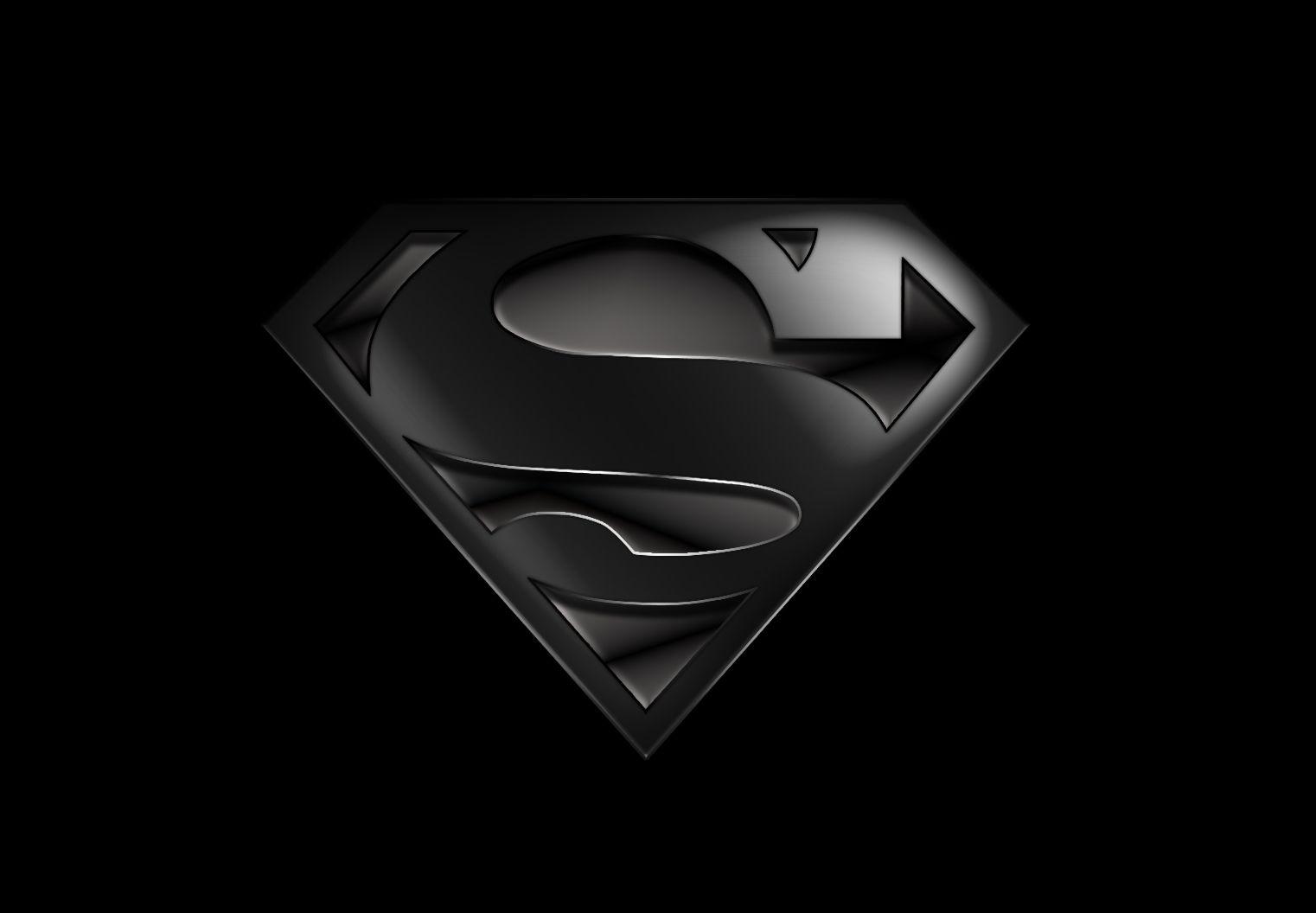 black superman wallpaper wallpapersafari