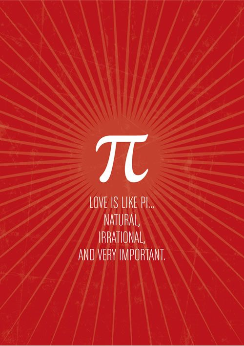 Why Love Is Like Pi Math Quotes Math Humor Nerd Jokes
