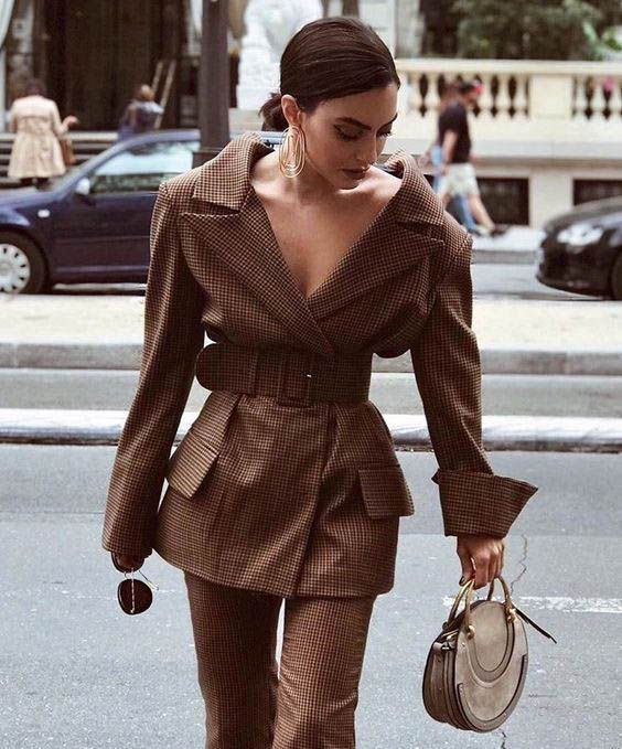 30 Ways to Style an Oversized Blazer  FROM LUXE WITH LOVE Oversized Blazer  street style fashion  fashion week Pinterest fromluxewithlove