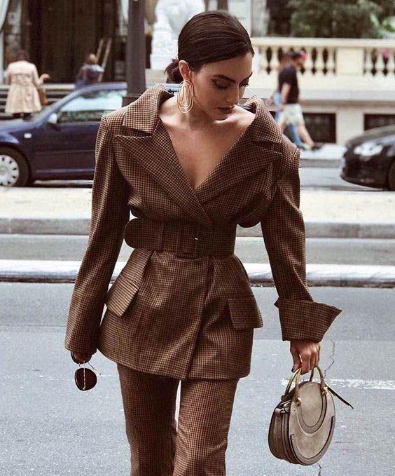 30 ways to style an oversized blazer - Mode Ideen #denimstreetstyle