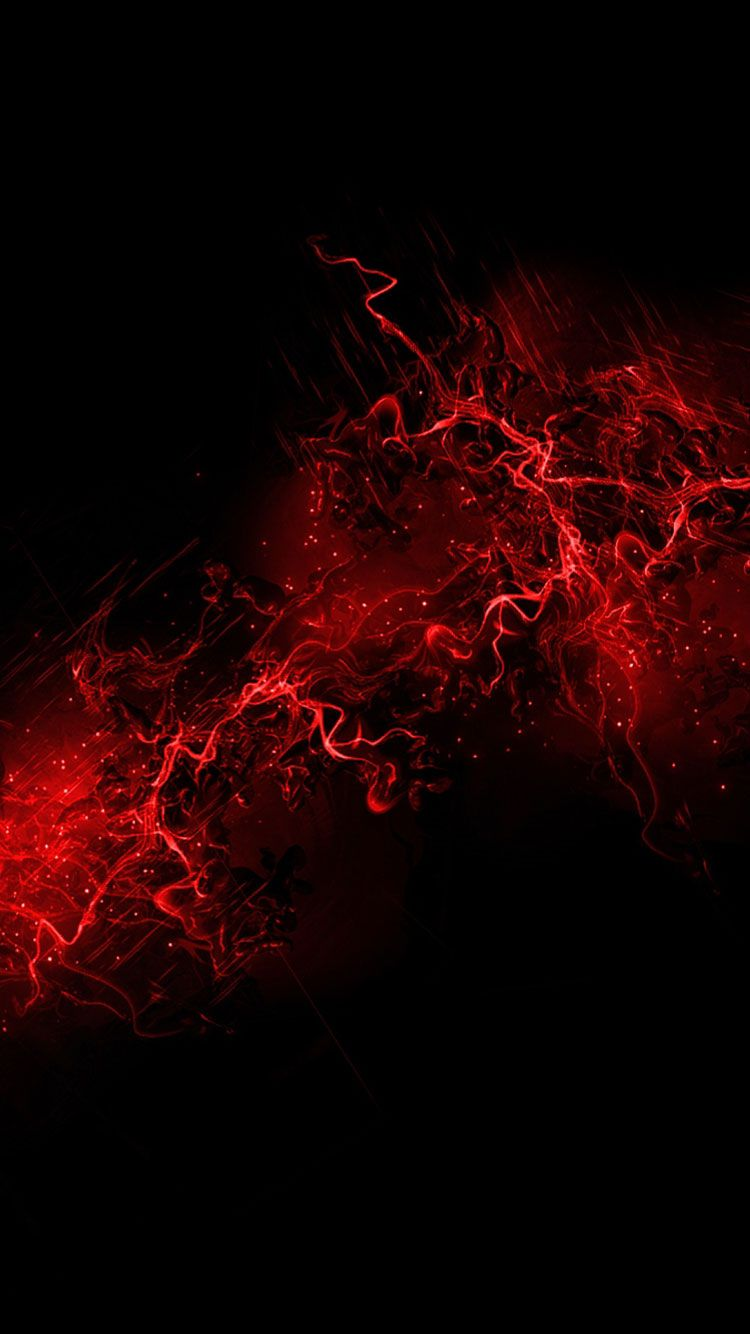 Wallpaper iphone black red - Red Iphone Wallpaper 7