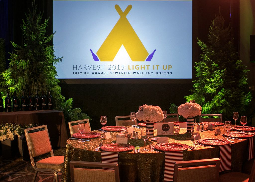 A night to remember. #HarvestBoston2015 Gala Dinner. Thank you @inventivevents