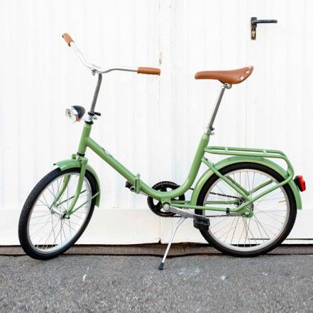 Bicicletta Pieghevole 20 Raleigh.Pina Green Bicicletta Bicicletta Pieghevole Bicicletta E Andare